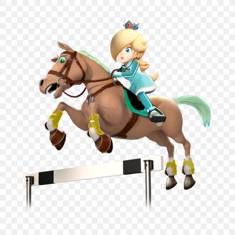 Rosalina Mario Sonic At The Rio 2016 Olympic Games Mario Sonic At The London 2012 Olympic Games Horse Equestrian Png 894x894px 2020 Summer Olympics Rosalina Animal Figure Art Bridle Download Free