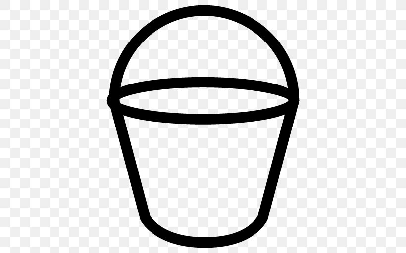 Bucket Paint, PNG, 512x512px, Bucket, Associative Array, Black And White, Bucket And Spade, Color Download Free