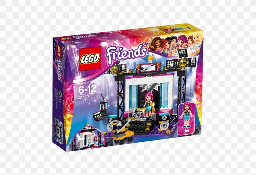 Lego  Friends Pop Star Live Stage 41105
