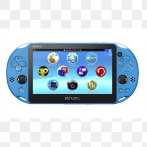 Aqua-blue - Sony PlayStation Vita Slim Video Game PlayStation 4 PNG