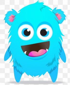 Blue Monster Transparent - Student ClassDojo Classroom Teacher PNG