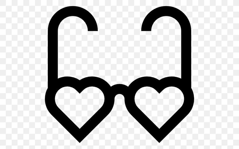Heart Valentine's Day Computer Icons Clip Art, PNG, 512x512px, Heart, Area, Balloon, Birthday, Black Download Free