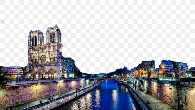 Notre-Dame De Paris Eiffel Tower Sacrxe9-Cu0153ur, Paris Seine La Dxe9fense, PNG, 1920x1080px, Notredame De Paris, Cathedral, Catholicism, Church, City Download Free