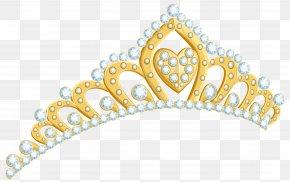 Golden Tiara Clipart Image - Crown Tiara Royalty-free Stock Photography Clip Art PNG