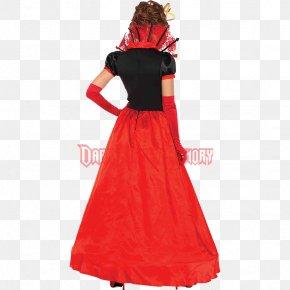 Queen Of Hearts Costume Accessories - Women's Deluxe Queen Of Hearts Costume Red Queen Women's Deluxe Queen Of Hearts Costume Woman's Elegant Queen Of Hearts Costume PNG