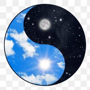 Flat Earth - Yin And Yang Stock Photography Symbol PNG