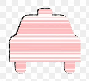 Pink Taxi Icon - Car Icon Taxi Icon PNG