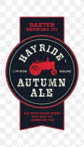 Autumn - Ale Label Logo Baxter Brewing Co. Font PNG