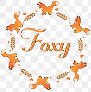 Watercolor Fox - Laurel Wreath Bay Laurel Zazzle PNG