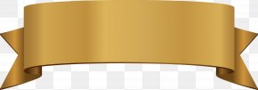 Gold Ribbon Pattern Vector Title - Ribbon Euclidean Vector Gold PNG