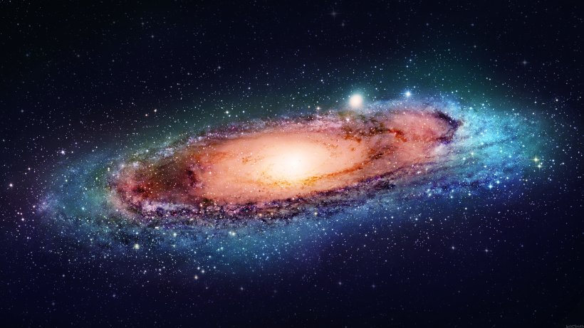 Galaxy Nebula Space Universe Desktop Wallpaper Png