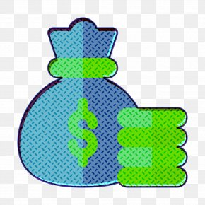 Symbol Turquoise - Cost Icon Money Bag Icon Strategy Icon PNG
