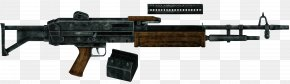 Machine Gun - Fallout: New Vegas Light Machine Gun Firearm Weapon PNG