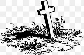 Grave - Grave Cemetery Headstone Clip Art PNG