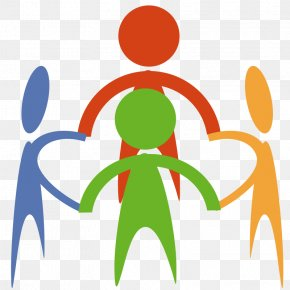 People Holding Hands In A Circle - Holding Hands Clip Art PNG