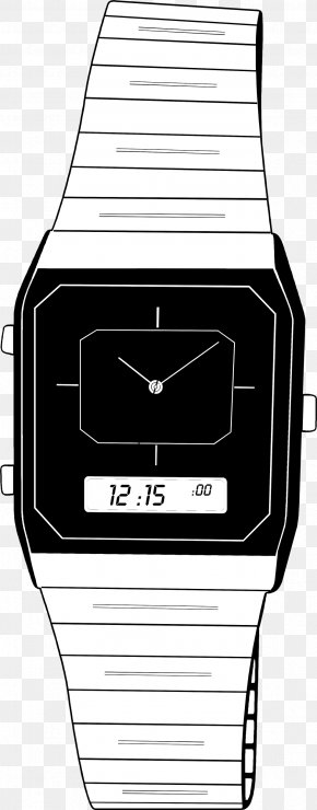 Watch - Watch Digital Clock Clip Art PNG