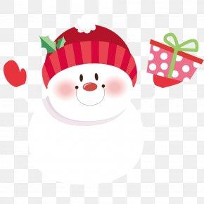 Christmas Snowman Vector Material - Santa Claus Snowman Christmas Clip Art PNG