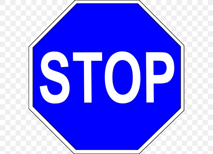 Stop Sign Traffic Sign Euclidean Vector, PNG, 600x591px, Stop Sign, Area, Blue, Brand, Drawing Download Free