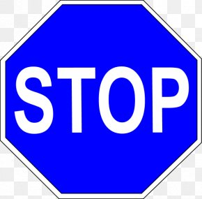 Sign Stop - Stop Sign Traffic Sign Euclidean Vector PNG