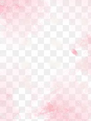 Pink Transparent Peach Elements Background - Textile Pink Pattern PNG