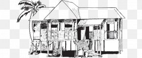 The Kampung Boy Production Drawing Malay Houses Sketch PNG