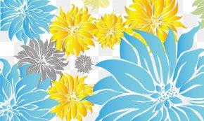 Simple Floral Decoration - Chrysanthemum Flora Petal Pattern PNG