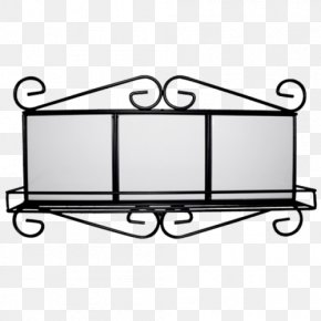 Metal Frame Material - Tile Wrought Iron Picture Frames Metal PNG