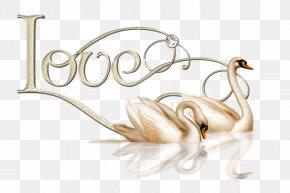 Swan - Cygnini Love Heart Clip Art PNG