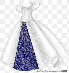 Bling - Dress Gown Paper Doll Princess PNG