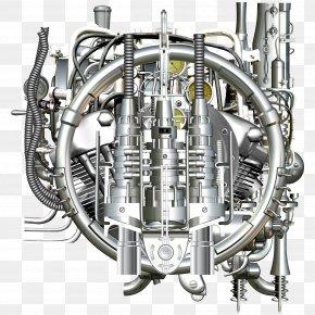 Diablo Machinery Industrial Revolution Steampunk Steam Engine - Industrial Revolution Machine Steampunk Steam Engine PNG