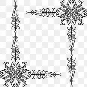 Black Frame - Picture Frame Clip Art PNG