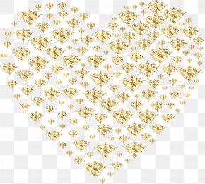 Gold Background - Heart Desktop Wallpaper Gold Clip Art PNG