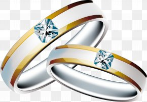 Wedding Ring - Engagement Ring Wedding Ring Clip Art PNG