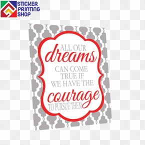 Dream - Brand Logo Art Dream Font PNG