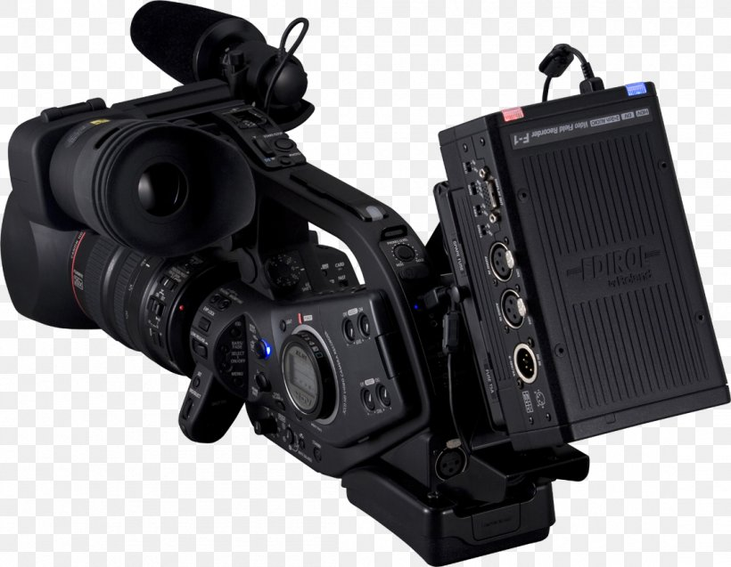 Microphone Video Digital SLR Mixing Console Roland Corporation, PNG, 1104x858px, Digital Video, Audio Mixers, Camera, Camera Accessory, Camera Lens Download Free