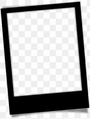 Picture Frame Rectangle - Background Black Frame PNG