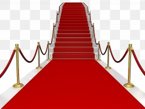 Red Carpet Ladder Stairs - Red Carpet PNG