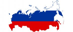 Russia - Flag Of Russia Map PNG