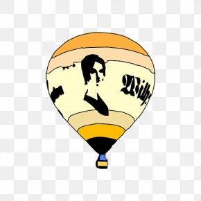 Graffiti Hot Air Balloon - Hot Air Balloon Clip Art PNG
