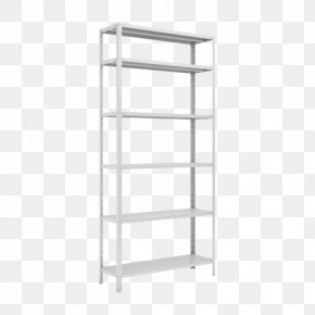 X Display Rack - Bookcase Shelf Furniture Steel Sheet Metal PNG