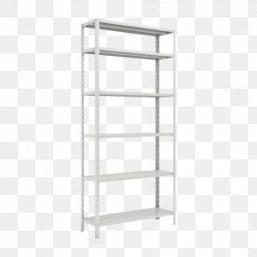 X Display Rack - Bookcase Shelf Furniture Steel Sheet Metal PNG