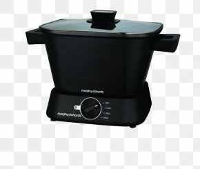 Simple Black Rice Cooker - Slow Cookers Morphy Richards Hob Cooking PNG
