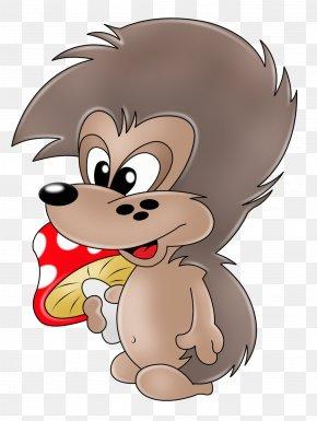 Cartoon Hedgehog - Hedgehog Animal Illustrations Drawing Clip Art PNG