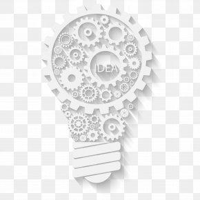 White Bulb Vector Material Gear - Light Gear Euclidean Vector Wheel Mxe1quina PNG