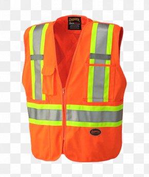 T-shirt - T-shirt High-visibility Clothing Gilets Jacket Zipper PNG
