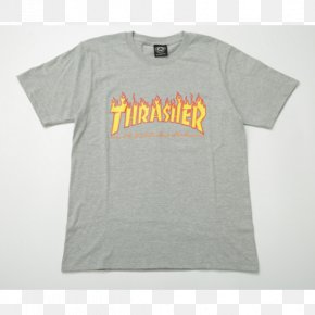 T-shirt - T-shirt Hoodie Thrasher Presents Skate And Destroy Streetwear PNG