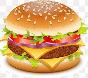 Hamburger, Burger Image Mac Burger - Hamburger Cheeseburger Veggie Burger Chicken Sandwich Fast Food PNG
