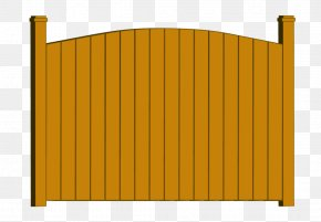 Vinyl Privacy Fence - Synthetic Fence Gate Wrought Iron Chain-link Fencing PNG