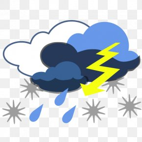 Bad Weather - Extreme Weather Storm Clip Art PNG