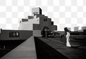 Museum Of Islamic Art - Museum Of Islamic Art, Doha Photography Black And White PNG